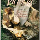 Victoria Magazine August 1991 Back Issue Old Roses Lavender Katharine Hepburn Sugar Shakers
