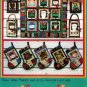 Sew Very Merry Quilting Pattern Wall Quilt Christmas Stockings Holiday Gift Bags
