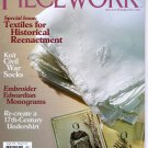 Piecework Magazine 2009 Textiles for Historial Reenactment Civil War Knitting Edwardian Monograms
