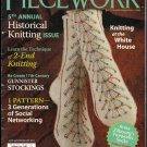 Piecework Magazine 2011 Knitting Gunnister Stockings Orenburg Snowflake Scarf Tartan Socks