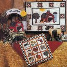 Down on the Farm Wall Quilt Pattern Quilting Debbie Mumm No Sew Applique