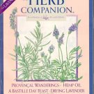 The Herb Companion Magazine Lavender Hemp Oil Bastille Day Feast June July 2000