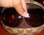 Coach Mimi Tortoise Sunglasses
