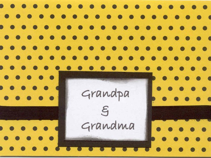 Granpa & Grandma You ROCK!!
