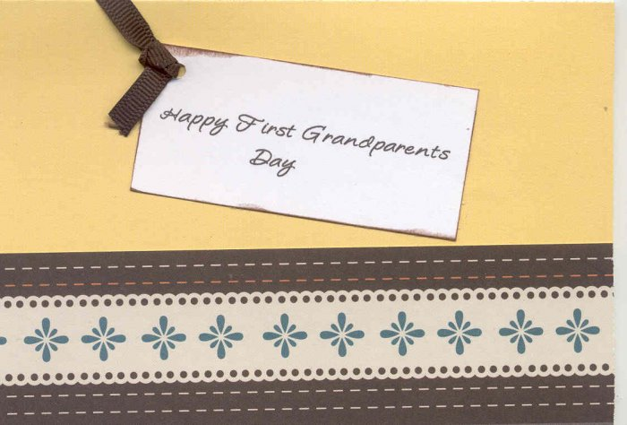 Happy First Grandparents Day