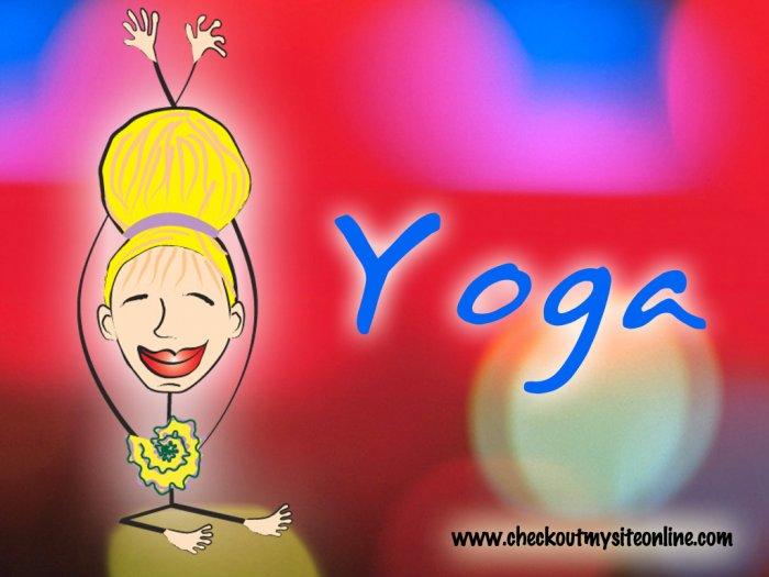 Yoga 11 x17 Giclee Print