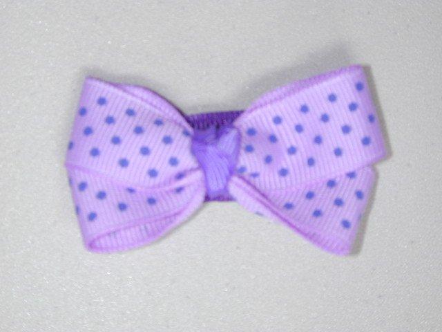 "2"" baby bow - lavender & purple"