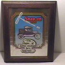 Vintage Snap-On Tools Decorative Advertising Framed Mirror/16x20/Ex Cond