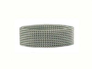 Women's Stainless Steel Mesh Ring
