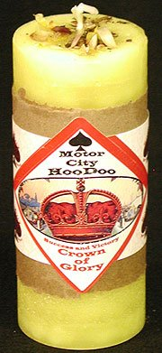 Crown of Glory Hoo Doo Candle