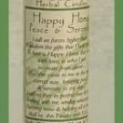 Happy Home Blessed Herbal Candle