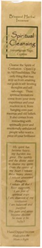 Spiritual Cleansing Blessed Herbal Incense 12pk
