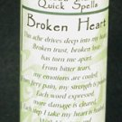 Broken Heart Quick Spell
