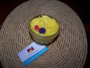 6 oz Lemon Grass Scented Candle