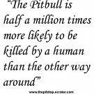 "pitbull t-shirt   ""pitbull truth"""