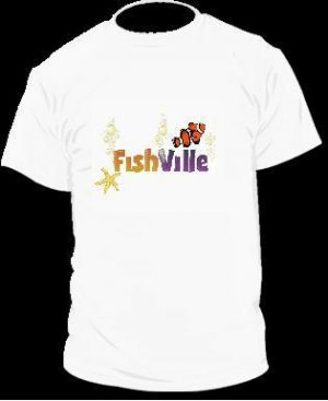 Fish Ville T-Shirt Facebook Game