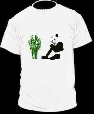 Panda Bear Bamboo T-Shirt