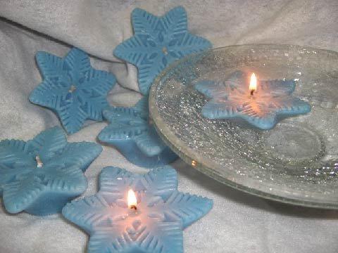 Light blue snowflake sented2
