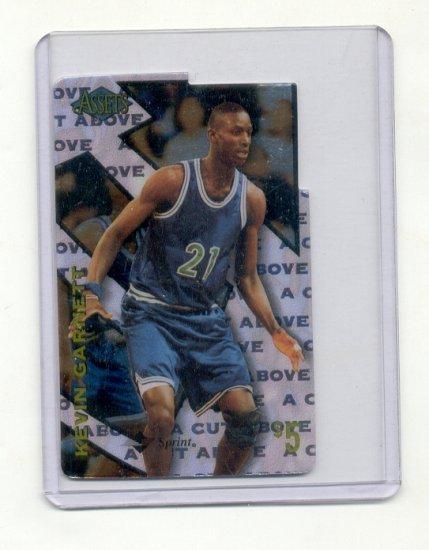 Kevin Garnett Boston Celtics Telephone Card Pre Rookie