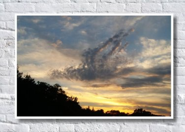 Sunset Photograph, Digital Wall Art, Photographic Prints, Gift
