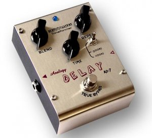 Free Shipping Biyang AD-7�Analog Delay Guitar Effect Pedal HOT