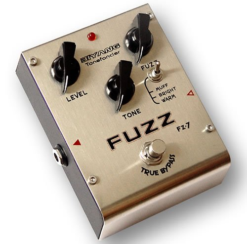 Free Shipping Biyang FZ-7�Three Modes Fuzz Guitar Effect Pedal