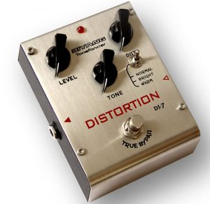 Free Shipping Biyang DS-7�Three modes distortion guitar effect pedal