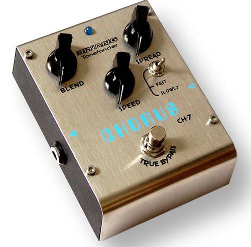 Free Shipping Biyang CH-7�Classic Analog chorus guitar effect pedal