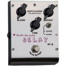 Free Shipping Biyang AD-8—Double chip Delay Pedal Guitar Effect Pedal