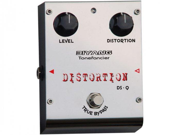 Free Shipping Biyang DS-9�Distortion pedal Guitar Effect Pedal