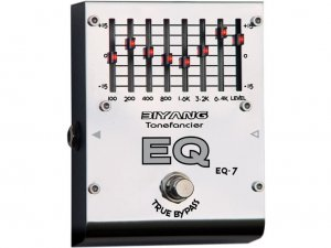 Free Shipping Biyang EQ-7�7 Band Graphic Equalizer Guitar Effect Pedal