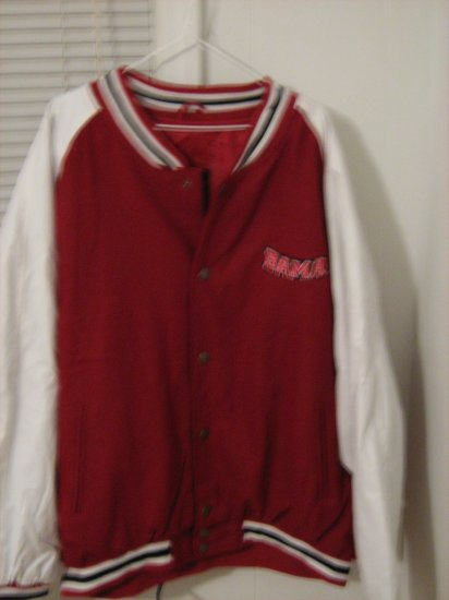 Size XXL University of Alabama Leather Jacket