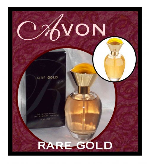 NEW Rare Gold Fragrance by AVON