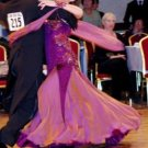 Bordeaux Ballroom Dress