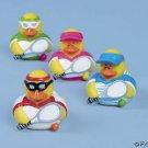 Set of 4 Vinyl Tennis Player  Rubber Ducks