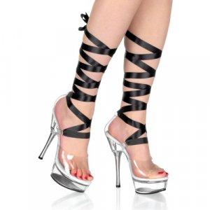 Women's Ribbon Ankle Wrap Shoes