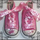 princess bling bling baby shoes