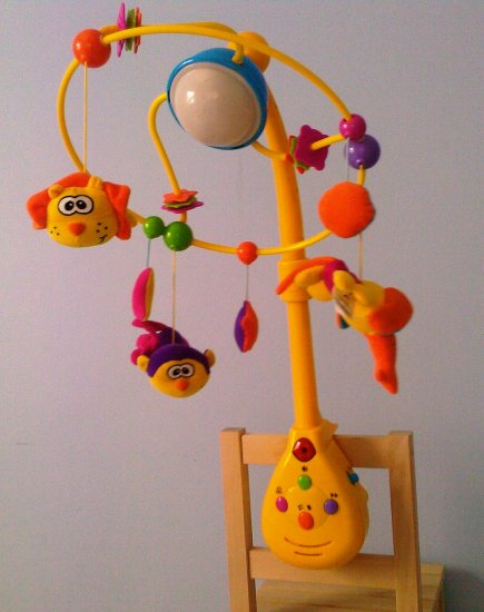 Babyshop Mobile, Sounds and Light