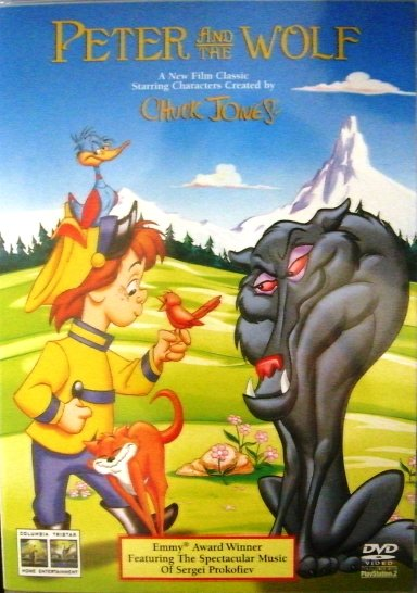 Peter and the Wolf  DVD