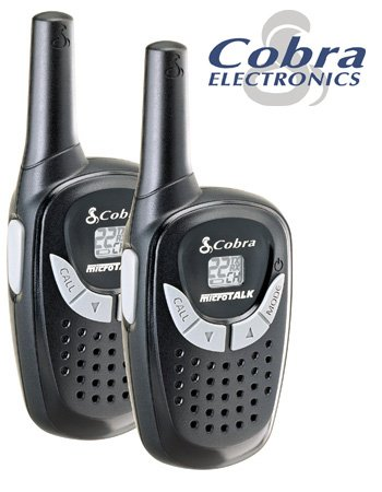 COBRA 3-MILE RANGE 2-WAY RADIOS