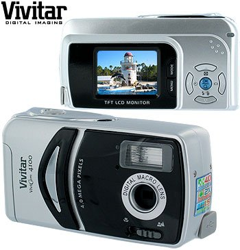 VIVITAR 4.0 MEGAPIXEL DIGITAL CAMERA