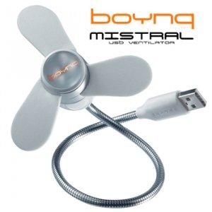 BOYNQ USB FAN AND LIGHT