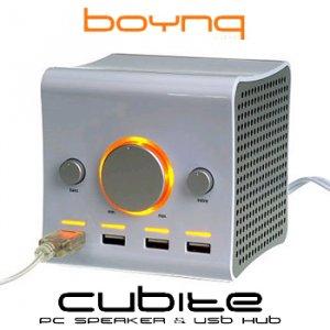 BOYNQ PC SPEAKER & USB HUB