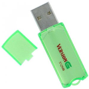 VERSION G 512 MB USB FLASH DRIVE