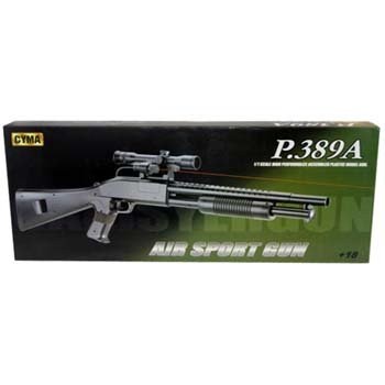 CYMA PUMP ACTION RIOT CONTROL SHOTGUN