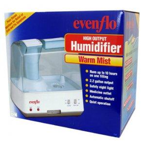 HOLMES EVENFLO WARM MIST HIGH OUTPUT HUMIDIFIER