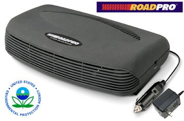 ROADPRO AIR PURIFIER WITH ION GENERATOR