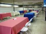 Booth Customized Table Covers for Rectangle Booths