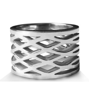 Seges - sterling silver ring