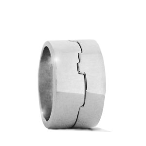 Equus - sterling silver ring